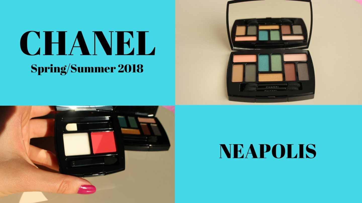 Chanel Spring/Summer 2018 Makeup Collection NEAPOLIS: New City