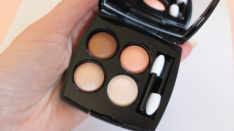 Chanel Les 4 Ombres 314 Lueurs Ambrees  review